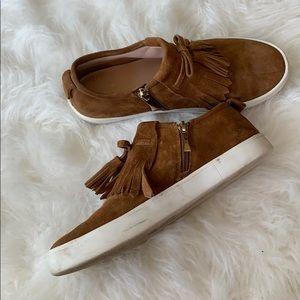 kate spade Shoes - Kate Spade Suede Slip Ons